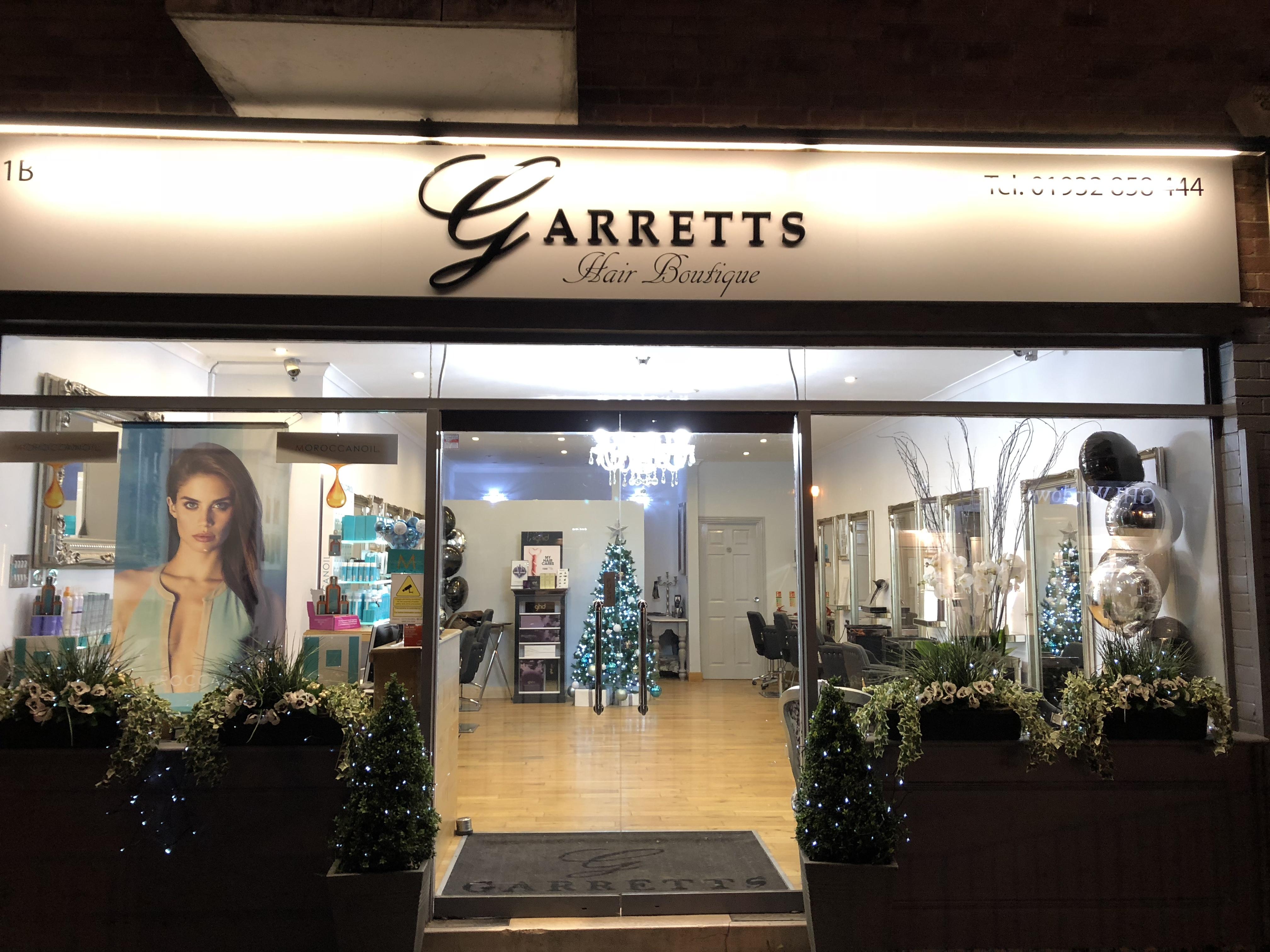 Hair salon in Weybridge